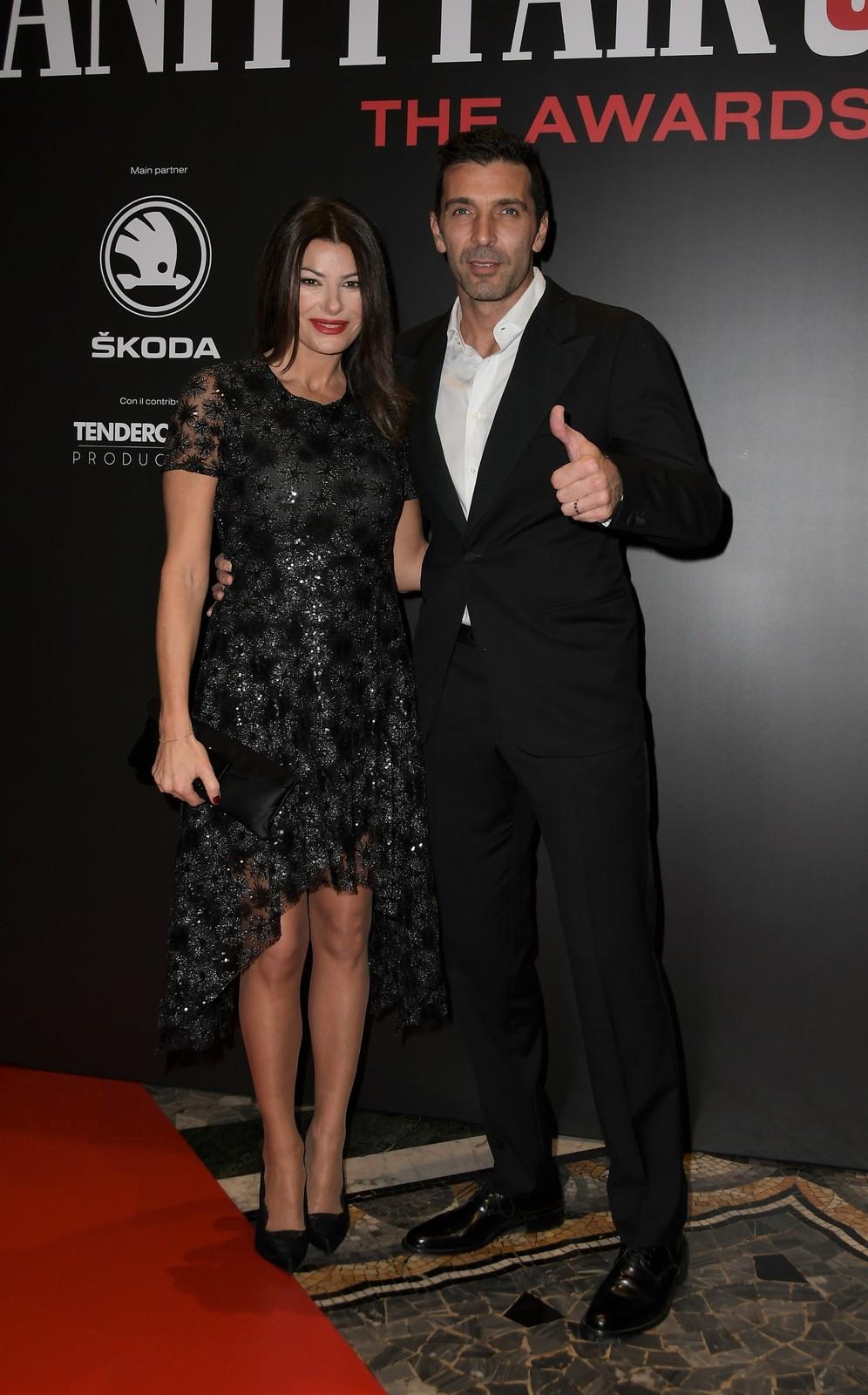 Gigi Buffon s partnerkou Ilarií