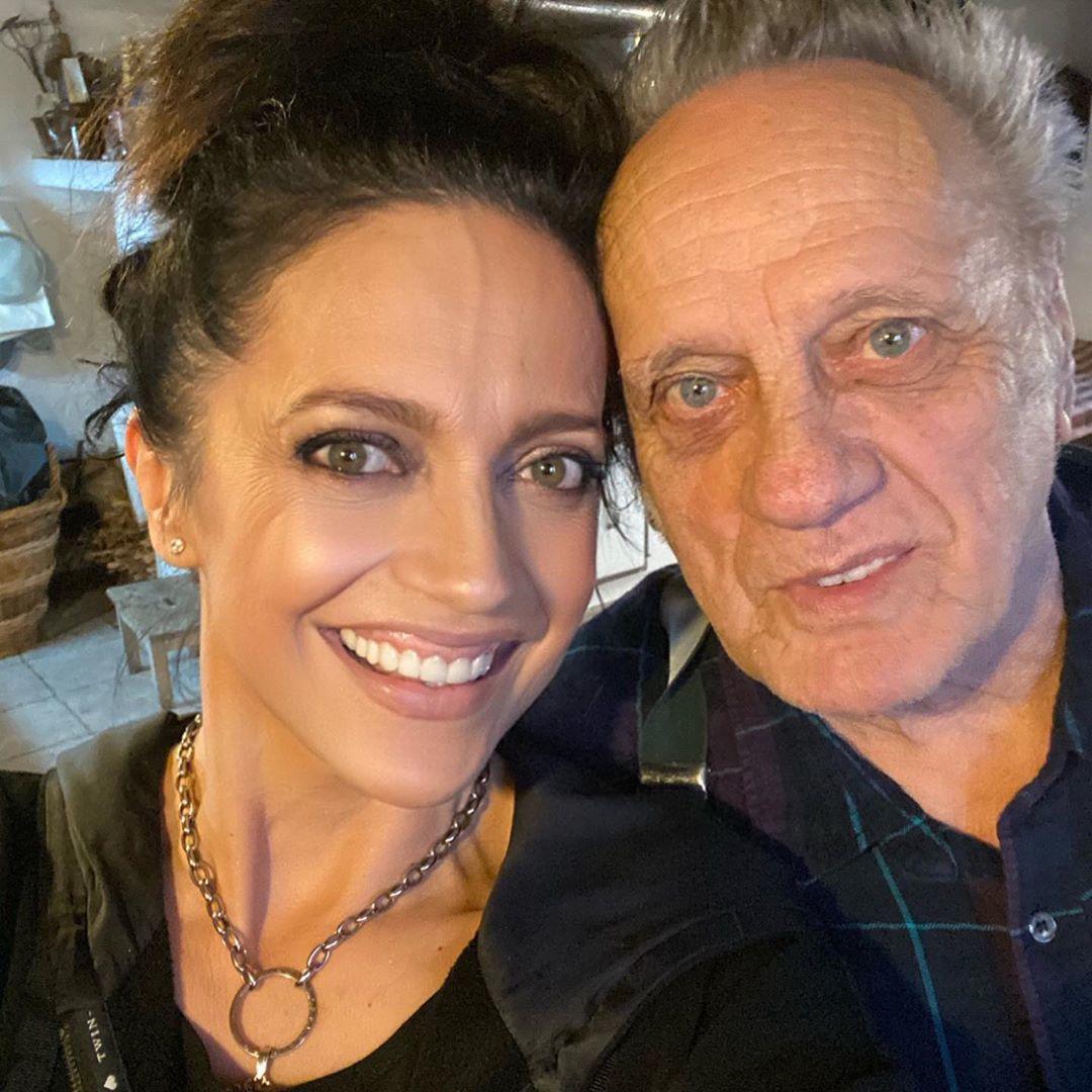 Lucie Bílá si pořídila selfie s tatínkem.