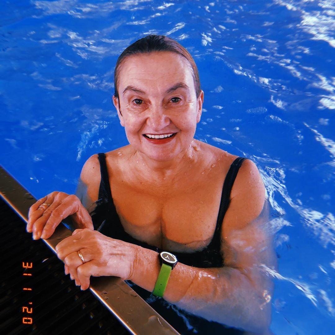 Eva Holubová na wellness pobytu