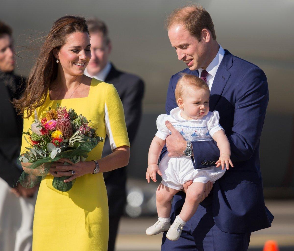 Když se narodil Kate první syn George, žila s manželem ve Walesu a cítila se osamělá a izolovaná.