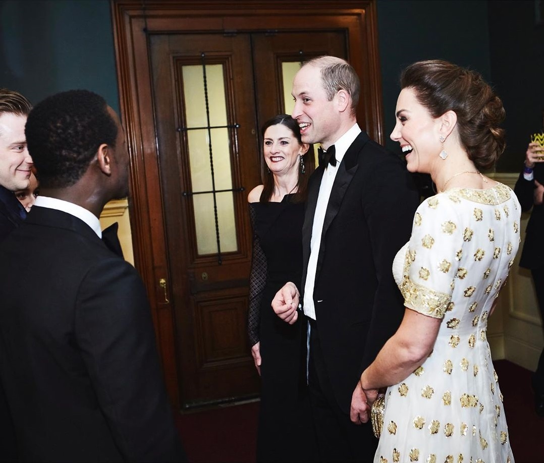Kate Middleton a princ William na cenách BAFTA
