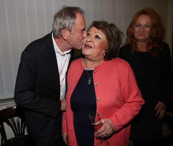 Políbení od přítele Ľubomíra Focka.