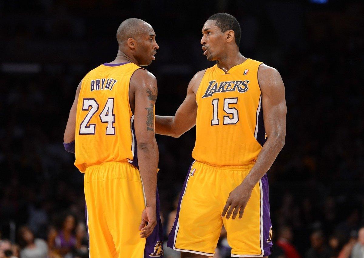 Ron Artest, alias Metta World Peace, prožil s Kobem několik sezon a poznal jeho tréninkový drill