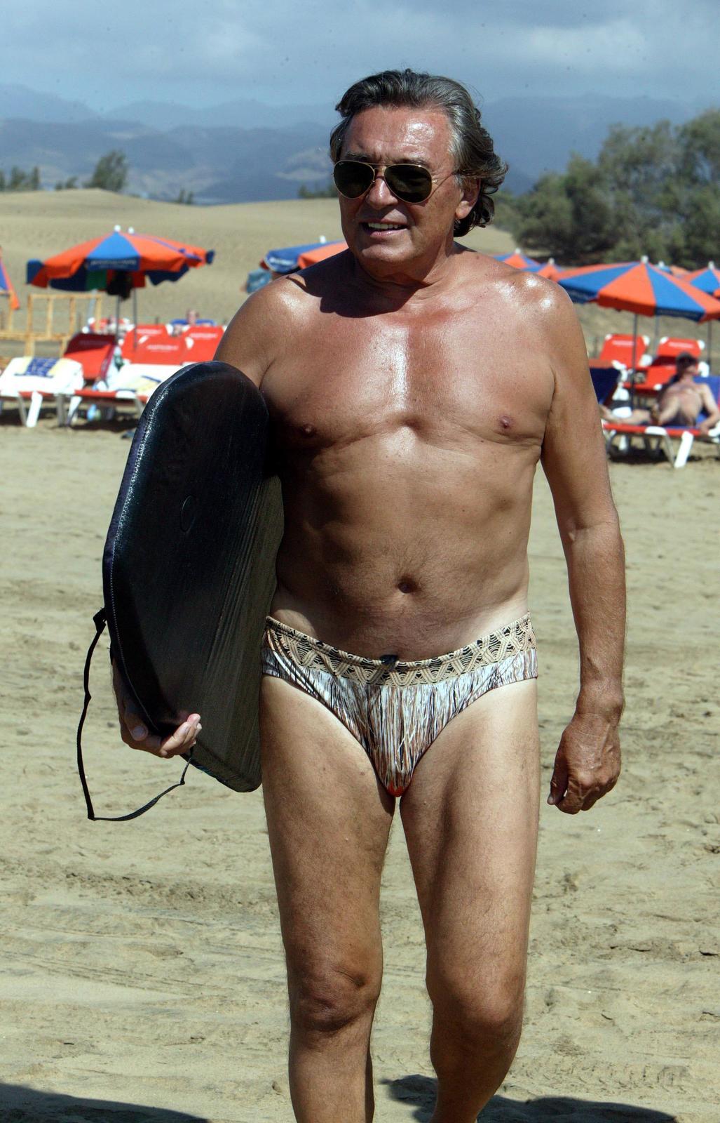 Aktivní Karel Gott, jen tehdy ještě nenosil bradku... (2006)