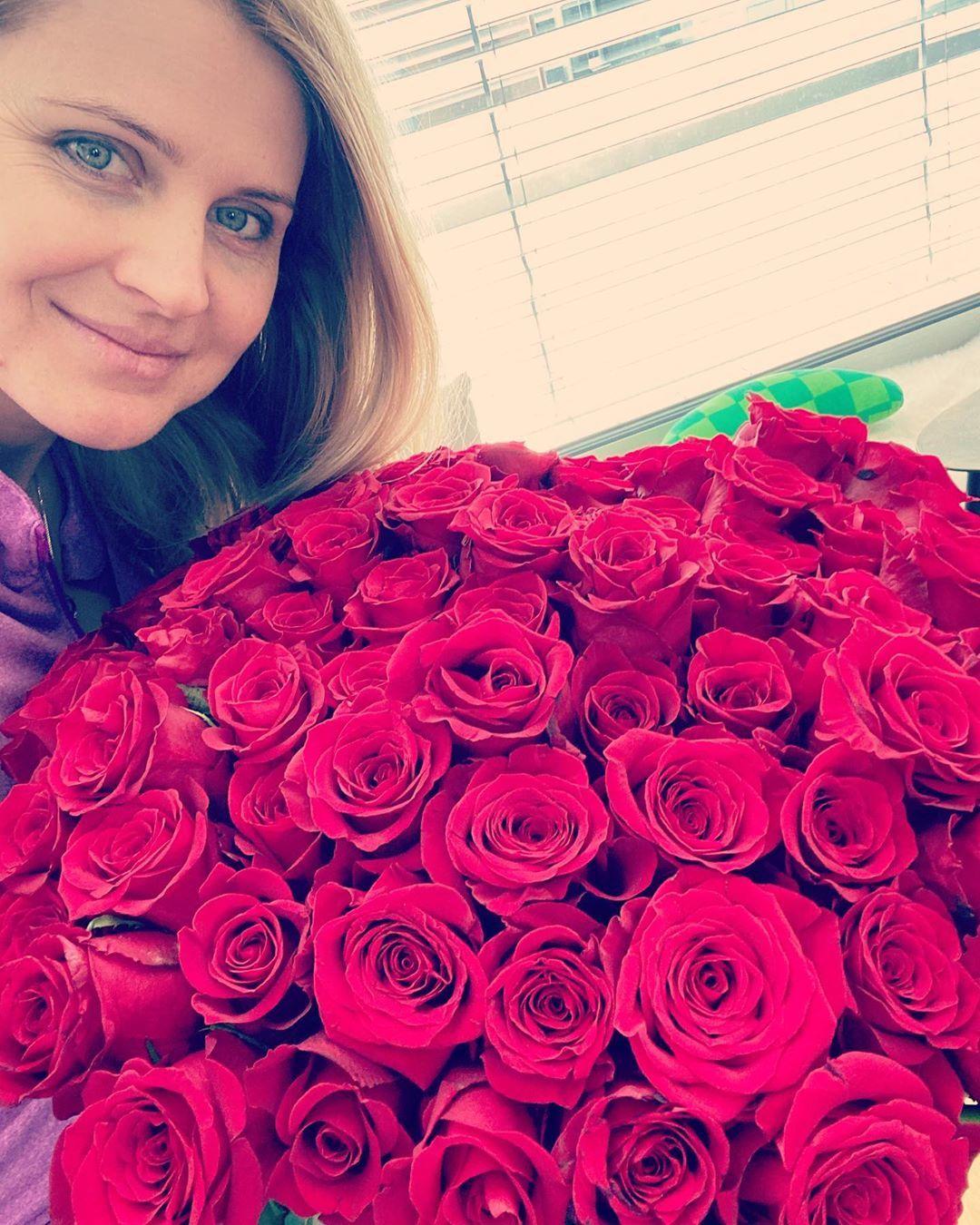 Lucii Šafářové puget růží od milovaného Tomáše uhranul