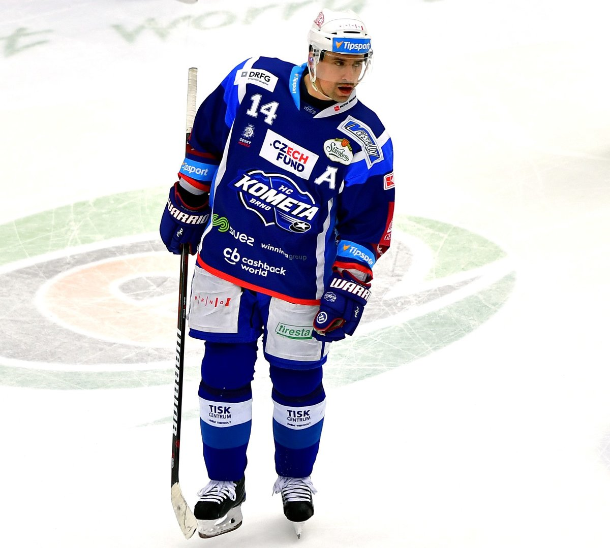 Tomáš Plekanec byl jediným střelcem Komety při debaklu 1:9 v Karlových Varech