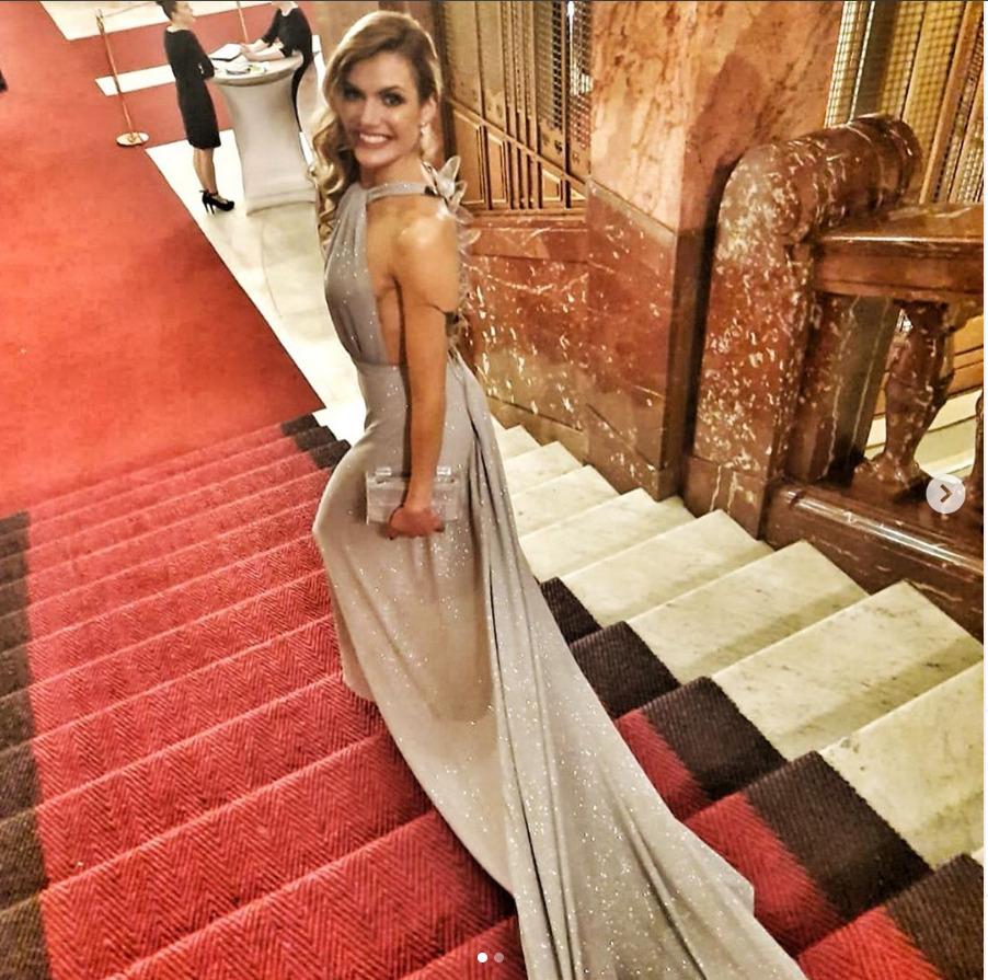 Na ples dorazila i Gabriela Koukalová.
