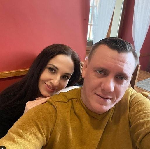 Michaela Kuklová se svým partnerem