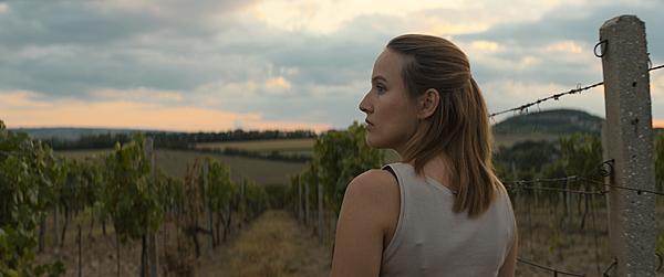 Tereza coby Postráneckého dcera na vinici.