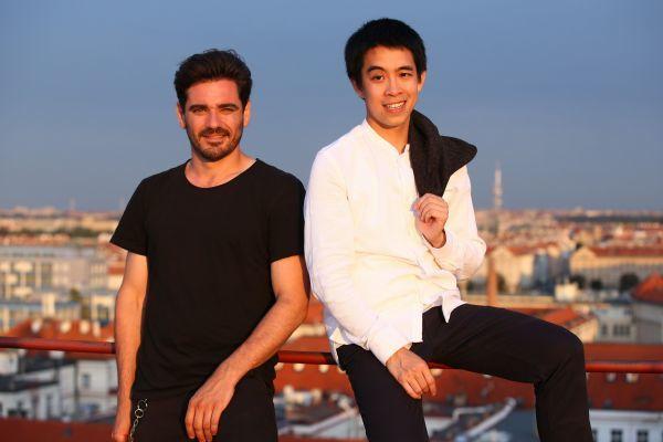 Vojtek a jeho seriálový parťák Duy Anh Tran.