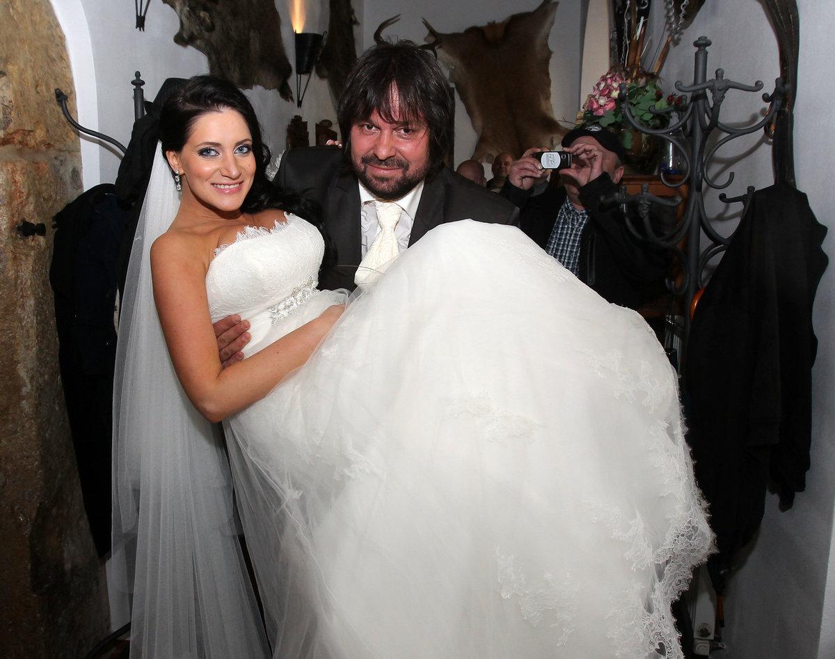 Svatba Jiřího a Andrey Pomeje