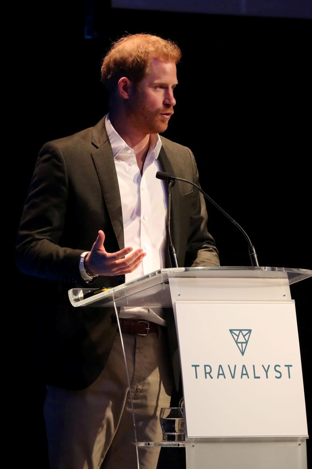 Princ Harry na konferenci