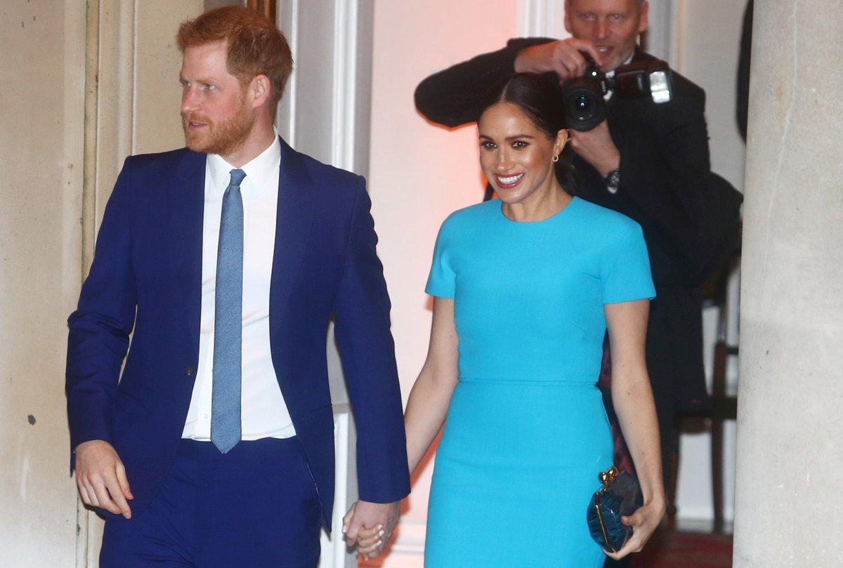 Ruku v ruce, Meghan a Harry vypadali šťastně
