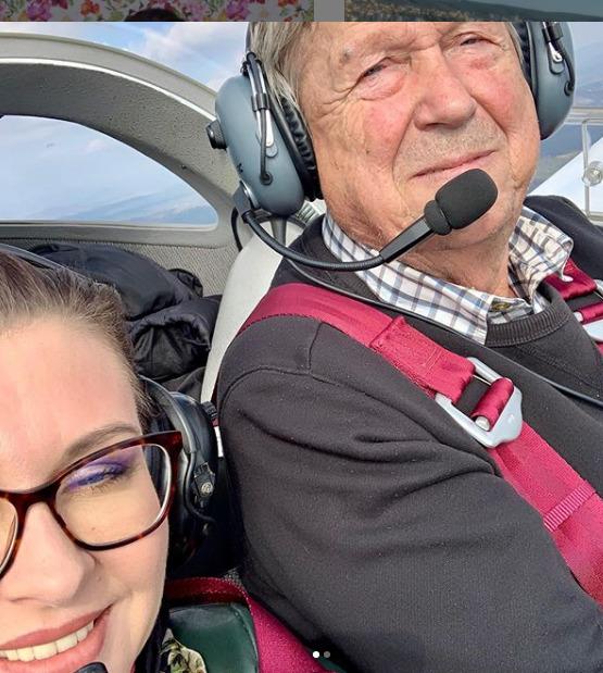 Dana si vyzkoušela létání.