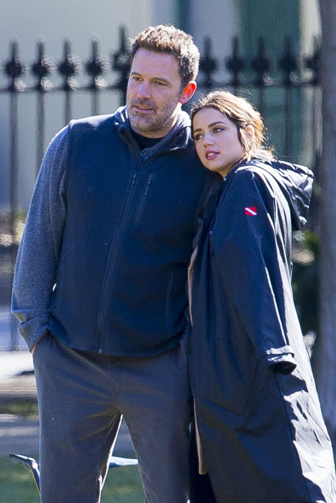 Ben Affleck a Ana de Armas spolu