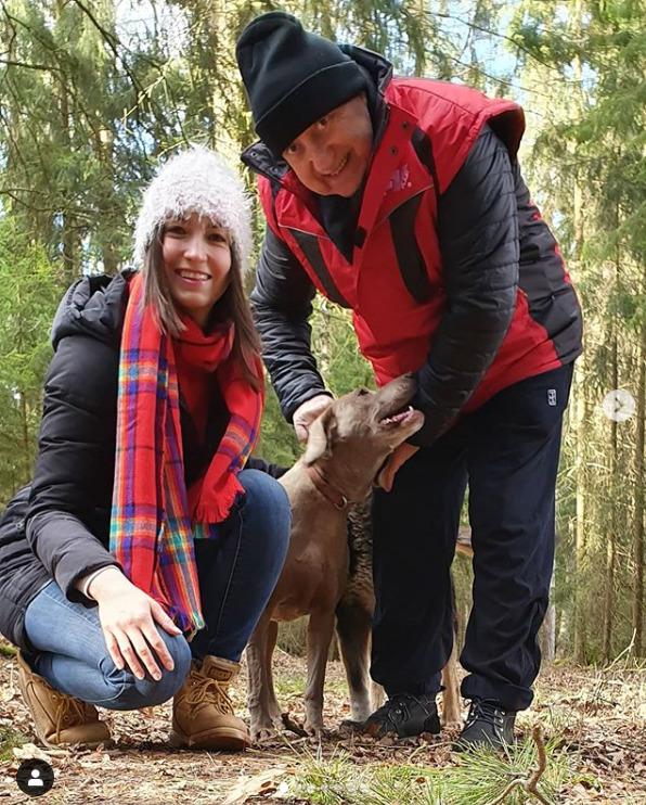 Lucie Gelemová a Felix Slováček utekli před koronavirem do jižních Čech