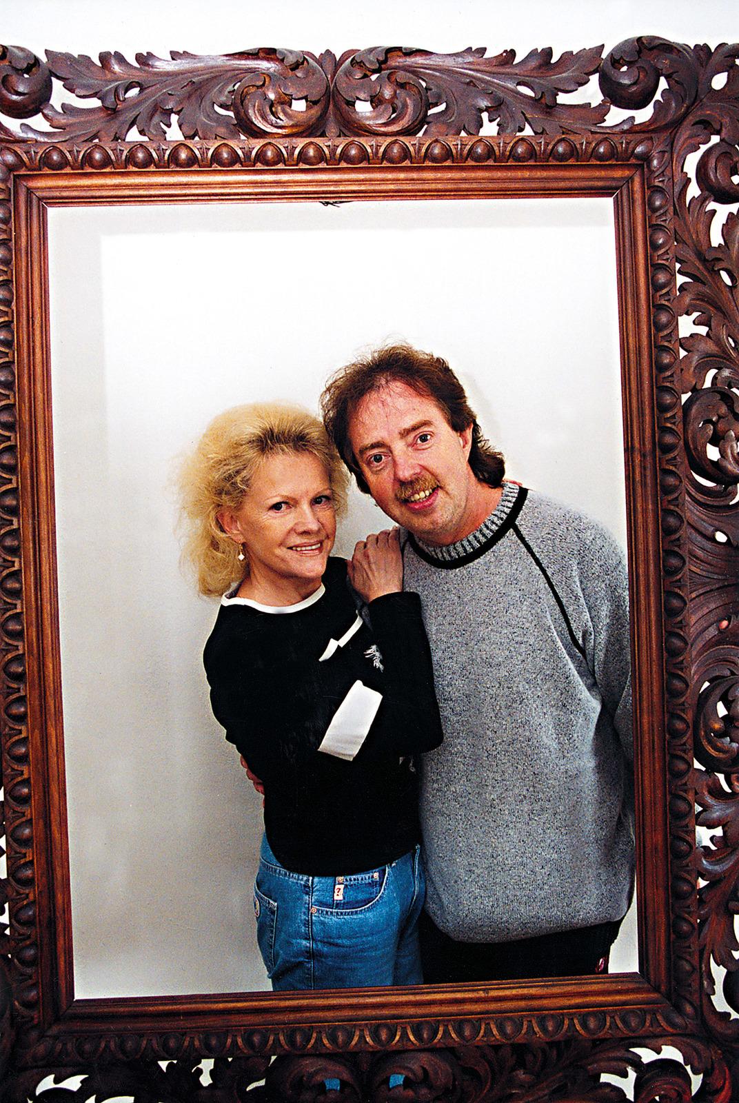 Eva Pilarová a její manžel Jan Kolomazník