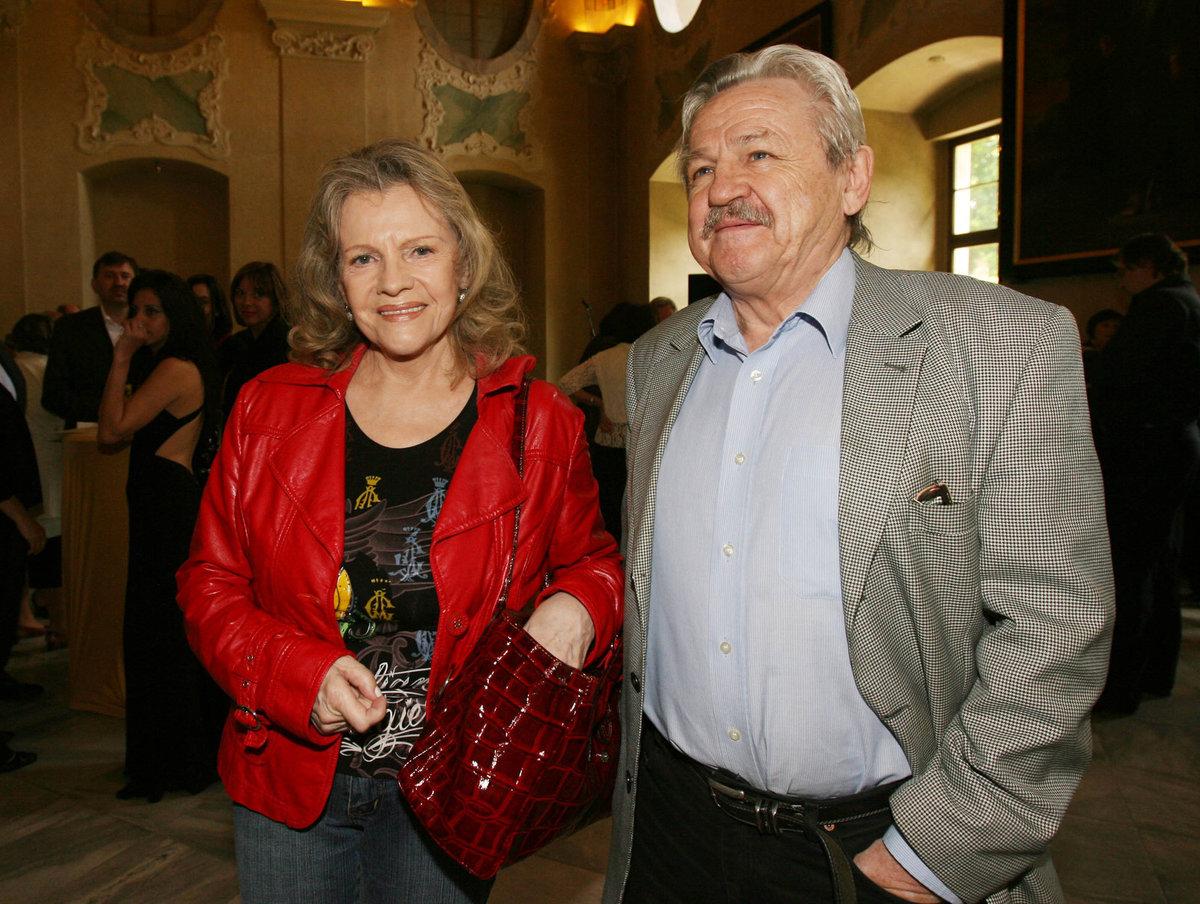 Pavel Sedláček s Evou Pilarovou