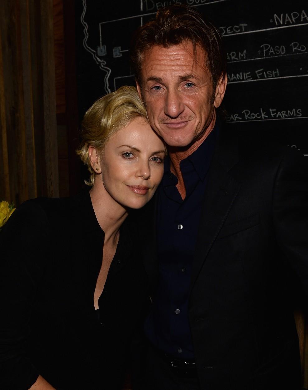 Charlize Theron a Sean Penn