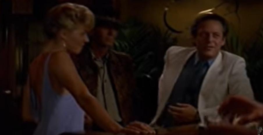 Markl Blum jako Richard ve filmu Krokodýl Dundee