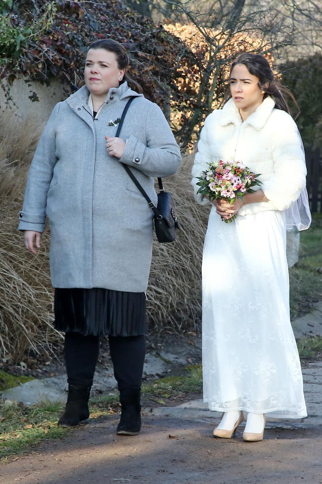 Svatební přípravy v seriálu Slunečná