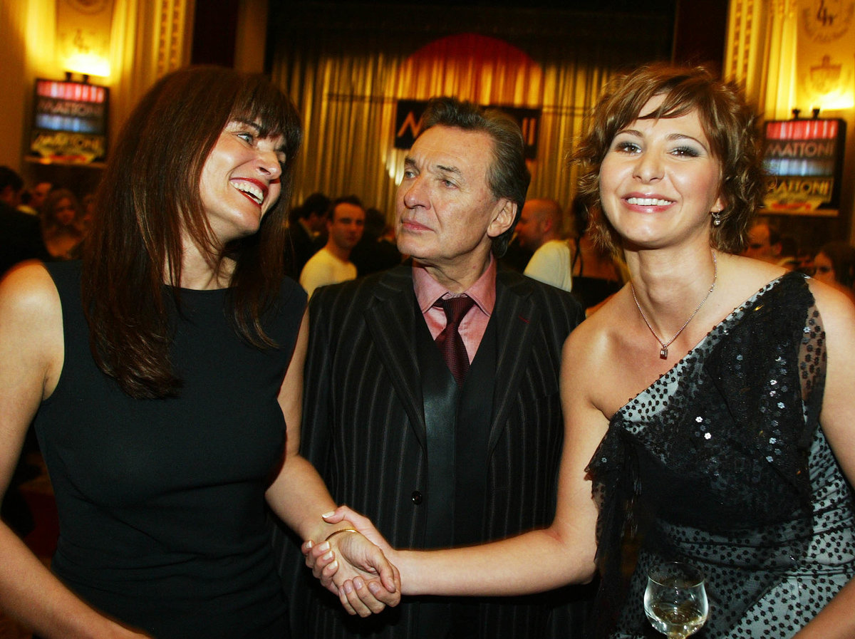 I po rozchodu se přátelili, také Karlova partnerka Ivana ji respektovala.
