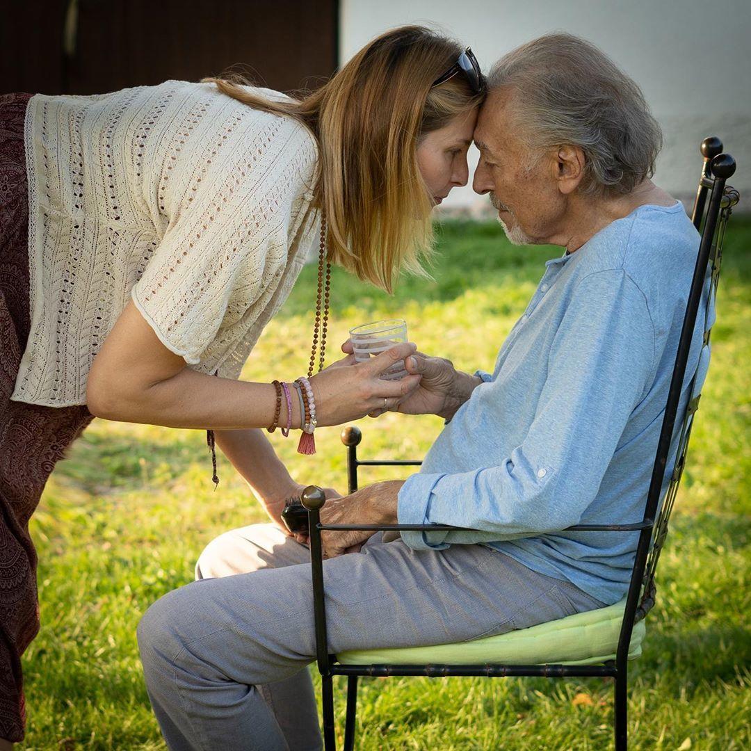 Karel Gott a Ivana: poslední oficiální snímek