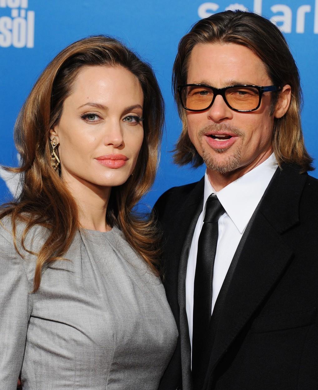 Brad Pitt a Angelina Jolie v době, kdy tvořili ještě pár