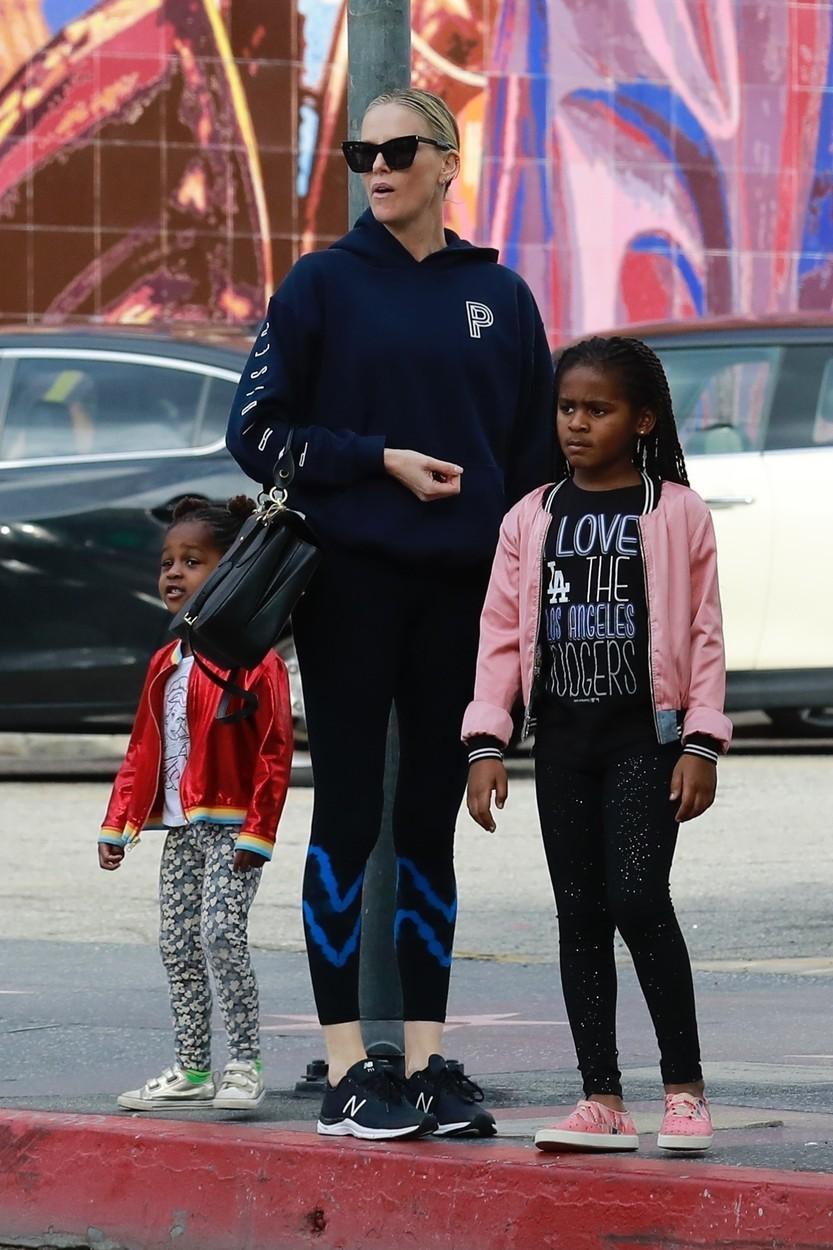 Charlize Theron s dětmi