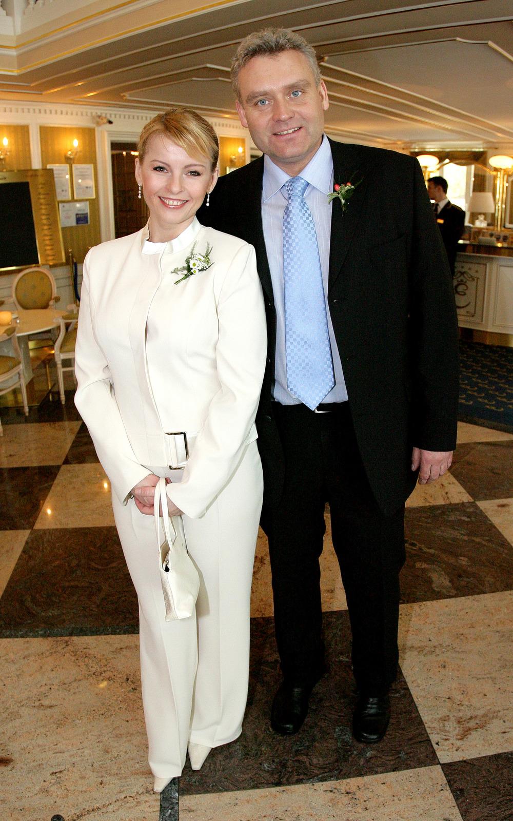 Iveta Bartošová s Romanem Hankem