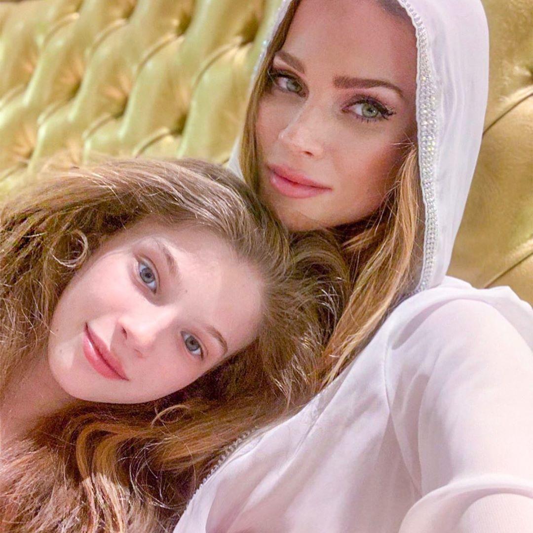 Andrea Verešová s dcerou Vanessou