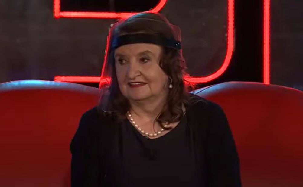 Eva Holubová v pořadu na Primě JSME S VÁMI.