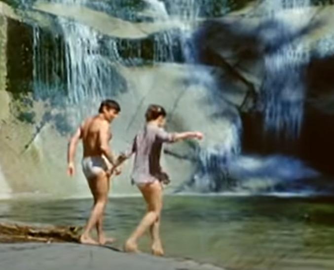 Josef Abrhám ve filmu Svatební cesta do Jiljí