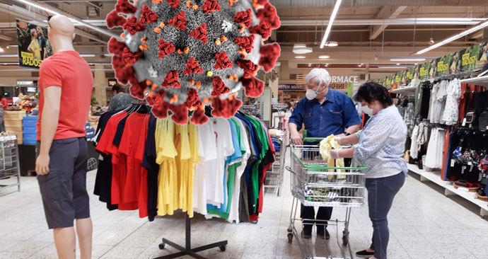 Zkoušet oblečení v obchodě nebude nějakou chvíli možné (ilustrační foto)