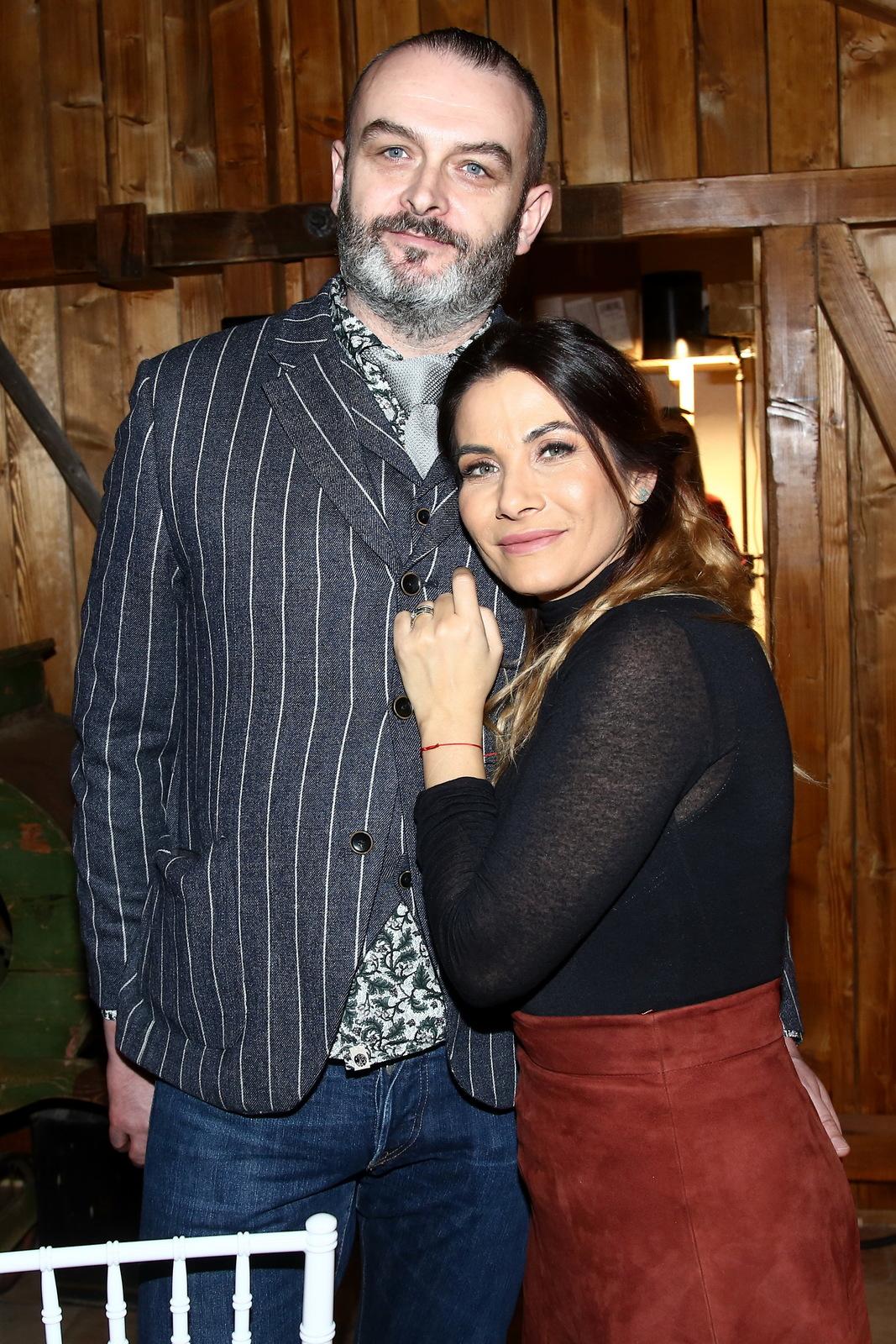 René a Eva Decastelovi v ateliérech Slunečné