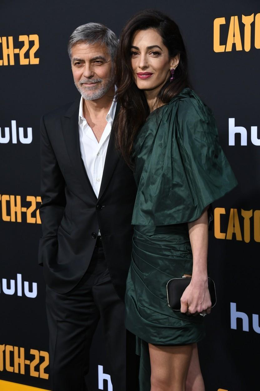 Amal a George Clooney