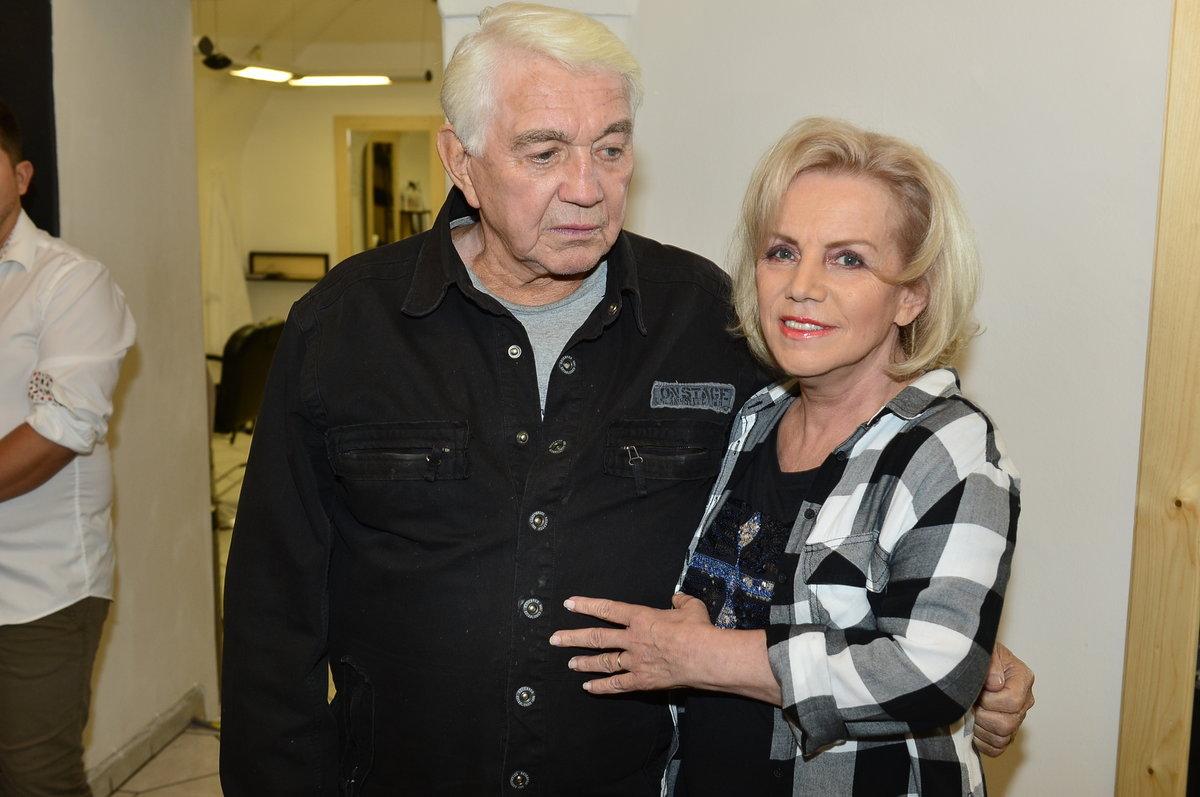 Jiří Krampol a manželka Hana