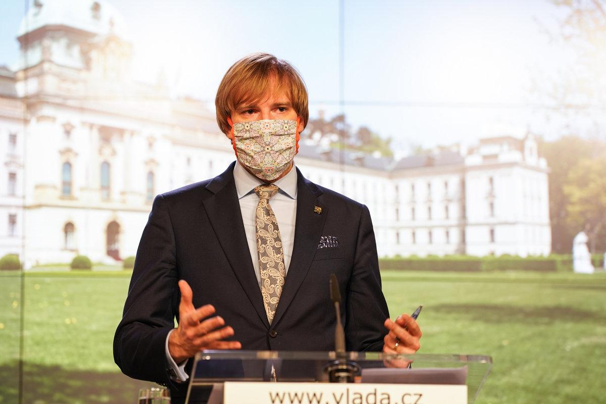 Vláda o koronaviru: Adam Vojtěch (24.4.2020)
