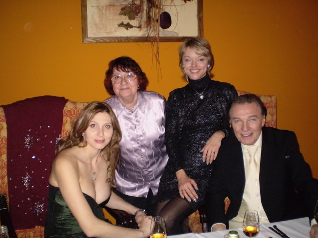 Dominika Gottová s rodiči a Ivanou Gottovou