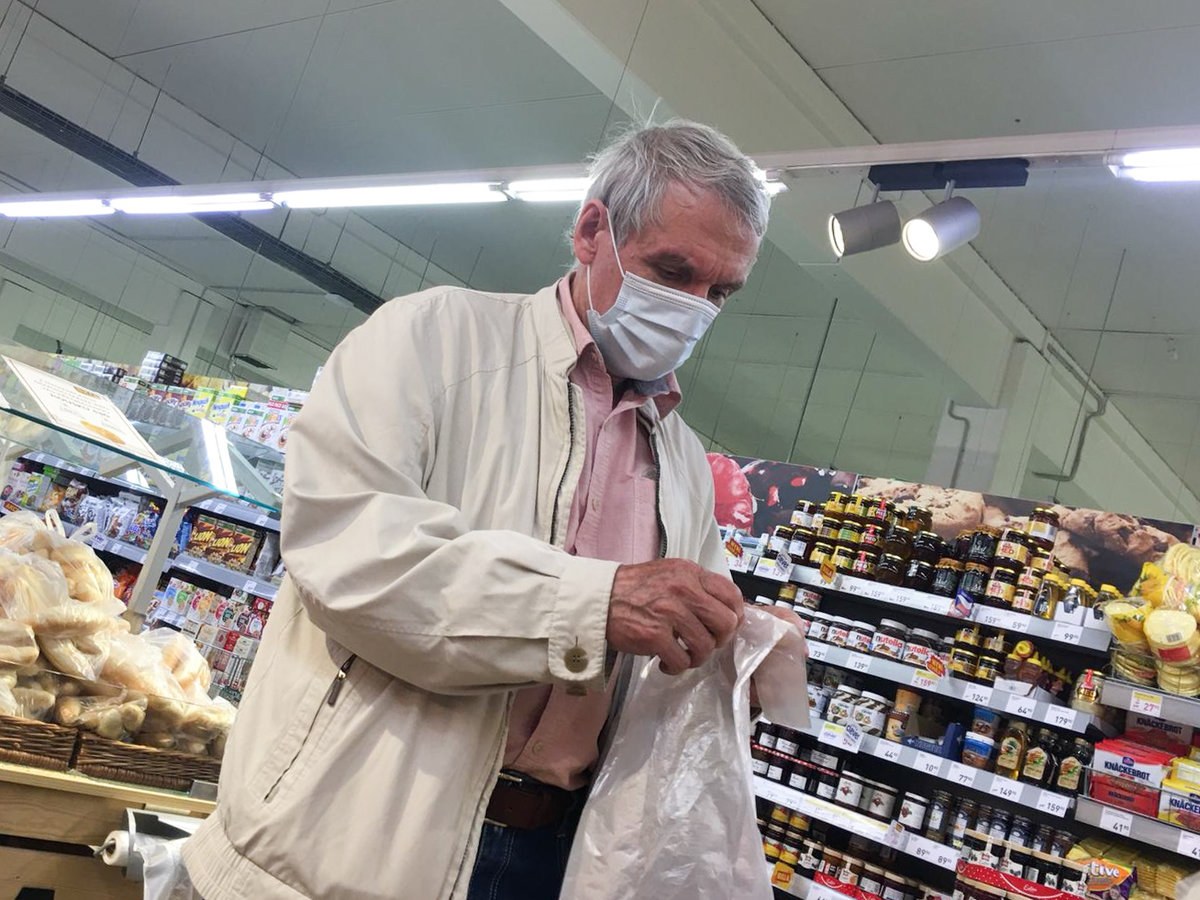 Nákupy v době pandemie koronaviru