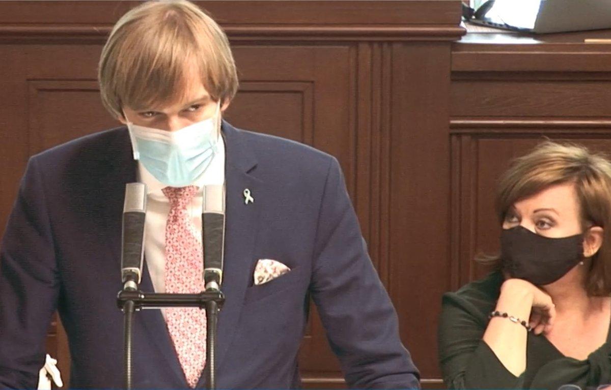 Sněmovna o koronaviru a stavu nouze: Adam Vojtěch a Alena Schillerová (za ANO) (28.4.2020)