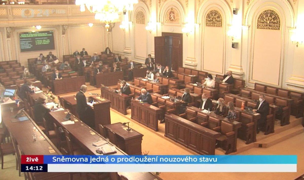 Sněmovna o koronaviru a stavu nouze: Projev Karla Havlíčka (28.4.2020)
