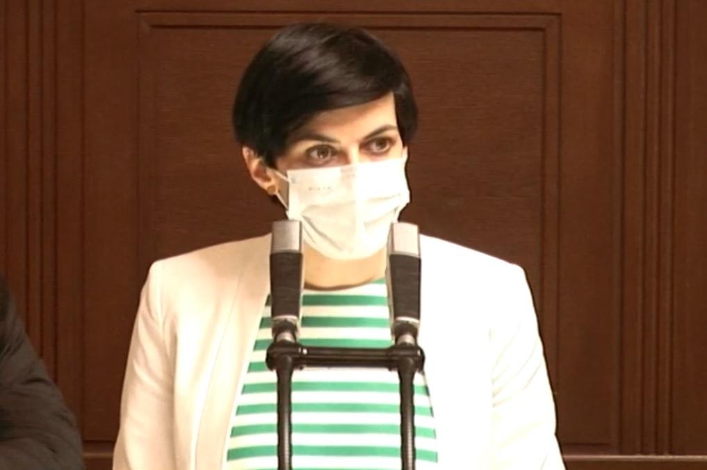 Sněmovna o koronaviru: Markéta Pekarová Adamová (TOP 09) kritizovala Vojtěcha za nákup ochranných pomůcek (28.4.2020)