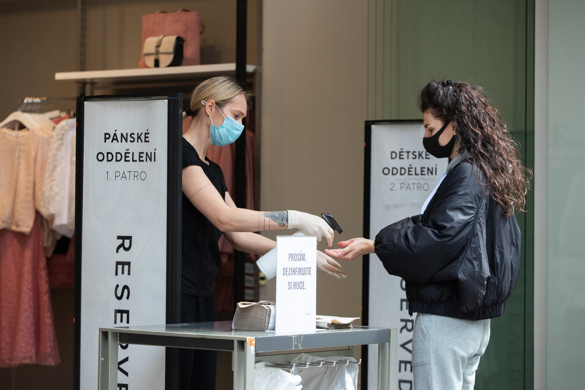 Česko v době pandemie koronaviru (30.4.2020)
