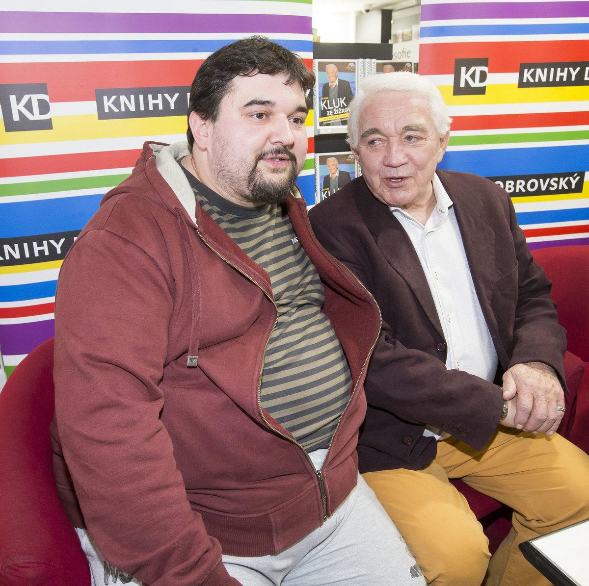Tomáš Magnusek s Jiřím Krampolem