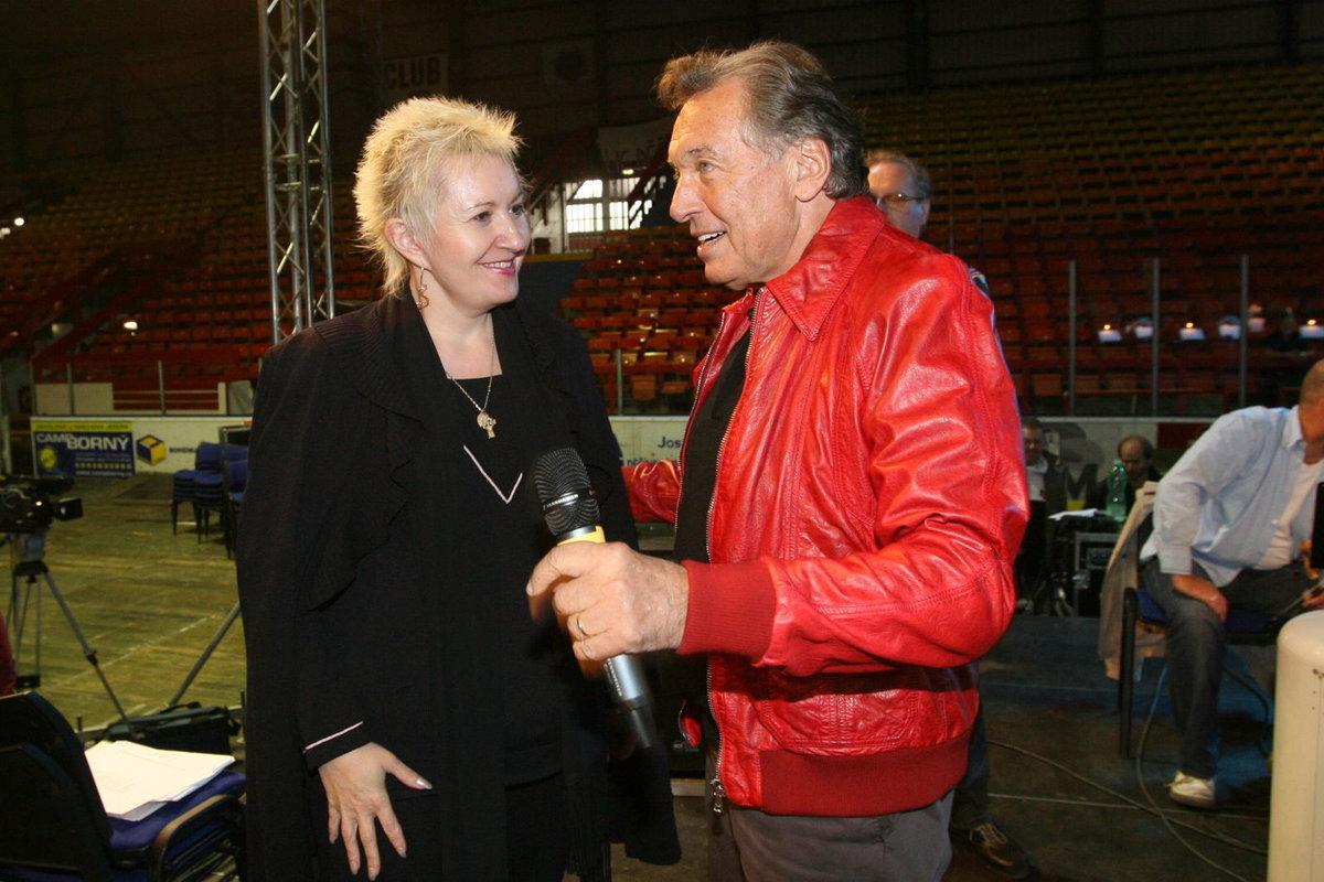 Karel Gott a Eva Urbanová