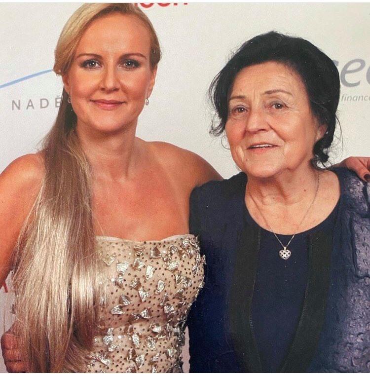 Vendula Pizingerová s maminkou