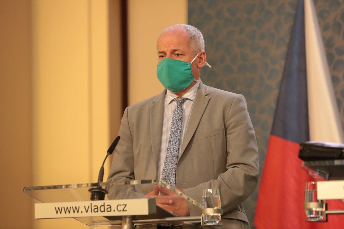 Náměstek ministra zdravotnictví Roman Prymula na tiskové konferenci po jednání vlády (11.5.2020)