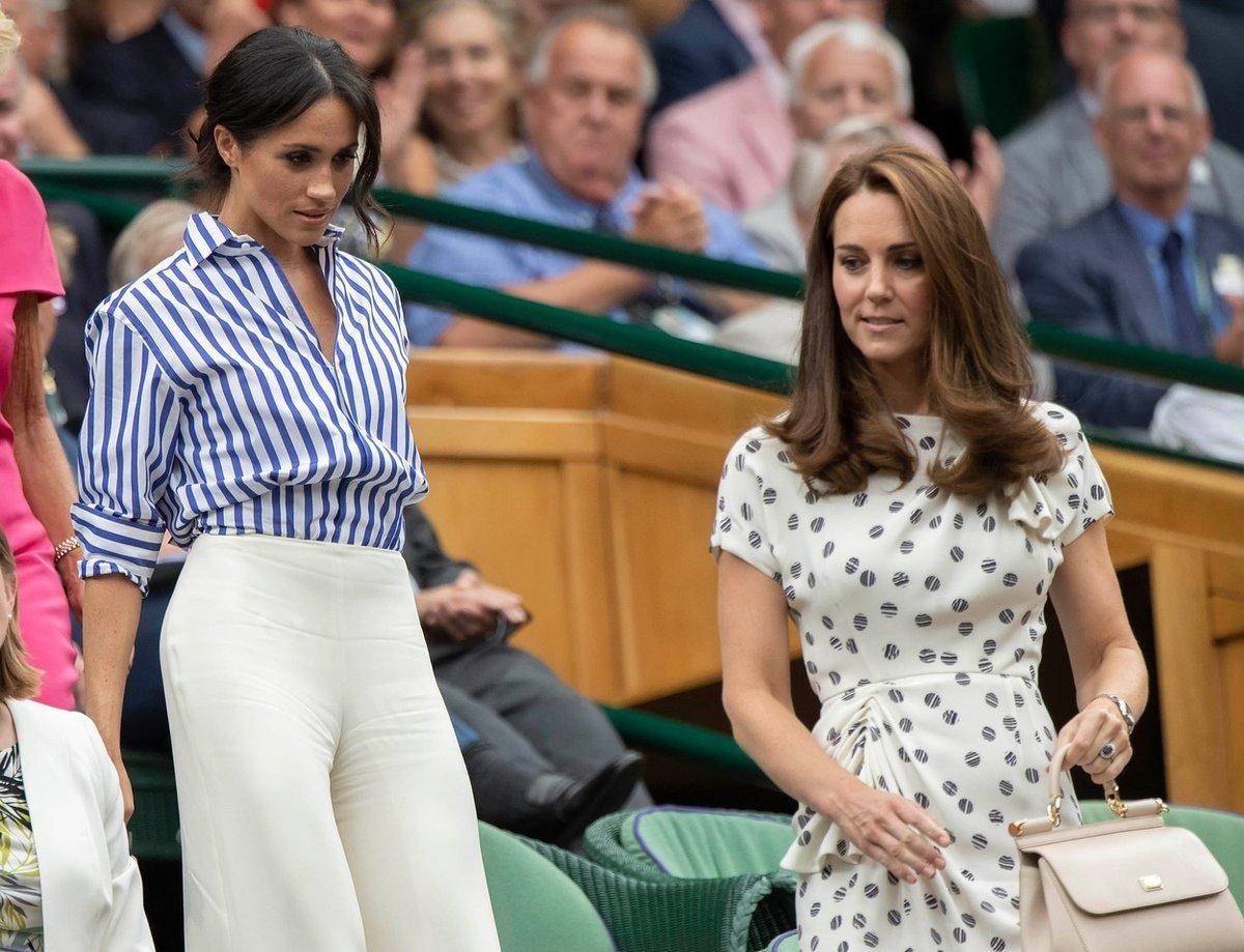 Meghan s Kate na Wimbledonu.