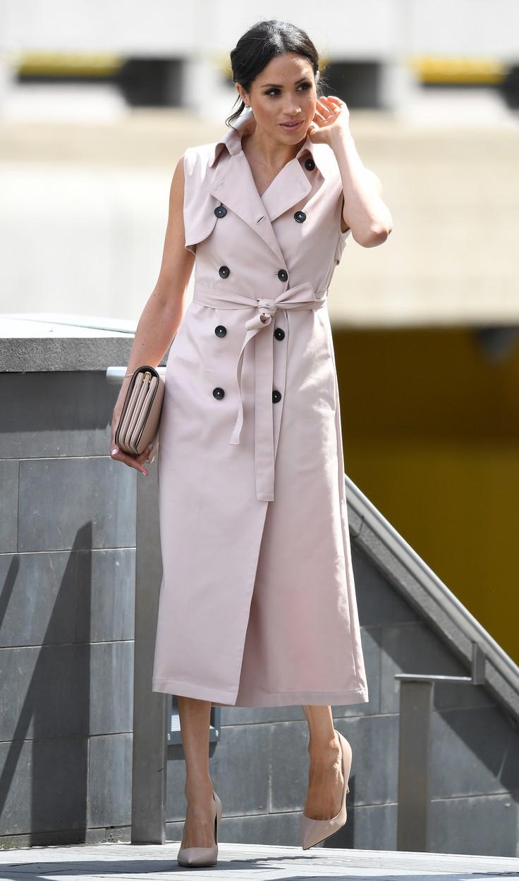 Meghan je pro mnoho lidí módní ikonou.